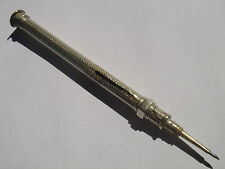 Nickel Silver, Propelling Pencil. Made in England