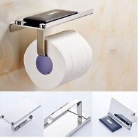 Porta carte igienica Stand di tessuto dispenser Montaggio a parete Casa