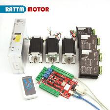 In Usa Stock3 Axis Usb Cnc Controller Kit Nema23 425oz In280ncm Stepper Motor