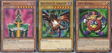Authentic Joey Wheeler Deck - Red-Eyes B. Dragon - Jinzo - 42 Cards - NM Yugioh