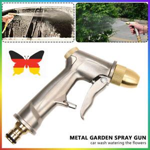 Metall Spritzpistole Wasserpistole Spritze Auto Brause Gartenbrause Handbrause