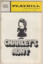 "Maureen O'Sullivan  &  Louis Nye   ""Charley's Aunt""   Playbill  1970  Broadway"