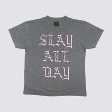 Beyonce Slay All Day T Shirt Gray Adult Large