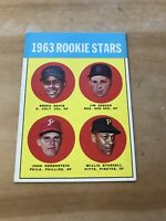 1963 TOPPS #553 WILLIE STARGELL HOF PIT PIRATES— HOT ROOKIE🔥*** (wph)