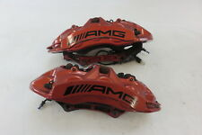 15 Mercedes W463 G63 brake calipers, front AMG Brembo