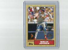 2012 Topps Archives Fan Favorites Autograph Wally Joyner Angels #FFA-WJ