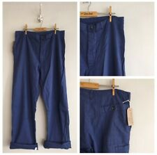 True Vintage Air Force Blue Cotton Chore Workwear Trousers Pants W36""