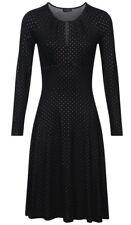 Vive Maria 🖤 Glamour Love Dress Kleid Schwarz Punkte Dots