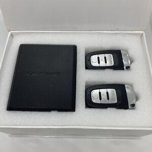 Easyguard EC002 Remote PKE Car Alarm System Start Stop Push Button Kit