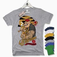T-Shirt - WELCOME TO THE NEIGHBOURHOOD - Fight MMA Oldschool Tattoo S M L XL XXL