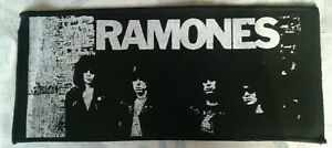 RAMONES printed large patch vintage #466 Rocket to Russia