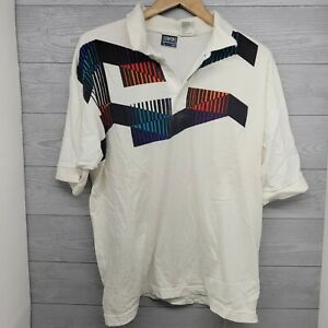 Vintage 90s Turning Point Tennis Polo Shirt Size XL