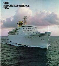 """1976 """"Sitmar Experience"""" - 40 Pages w/ Interiors & Plans - SSHSA sHiPs WORLDWIDE"""