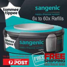 3x 6x 12x 24x 48x 60x Tommee Tippee Nappy Disposal System Refill Fits Sangenic