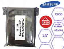 "Samsung, 160GB, 3.5"", HD161GJ Desktop Hard Drive (181211)"