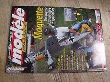 $$ Modèle magazine N°629 plan encarté avion Gee Bee R2  Spit  Me 109  Ranger