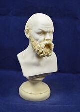 Socrates sculpture statue bust founder of western philosophy artifact