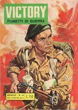 VICTORY STORIE DI GUERRA A FUMETTI ED. ALHAMBRA NUMERO 13