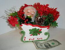 Older Santa & Sleigh Centerpiece Arrangement Brinn'S