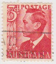 (AUZ108) 1950 AUSTRALIA 3d red used SG335