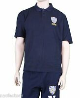 Official NYPD Polo Shirt Fine Embroidered Logo - Genuine Product New With Tags