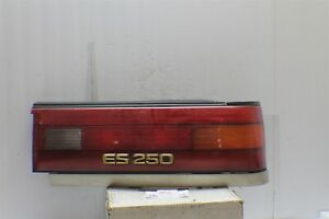 1990-1991 Lexus ES250 ES 250 right Driver OEM Tail Light 409 4M4