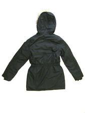 Manteaux, vestes et tenues de neige noir avec capuche pour fille de 10 à 11 ans