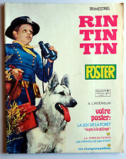 Rintintin Poster la loi de la forêt pirates de Red River Bjorn Borg Jose Dematos