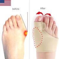 Big Toe Splint Straightener Corrector Bunion Hallux Valgus Pain Relief Feet Care