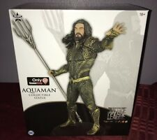 Justice League AQUAMAN GameStop Exclusive STATUE By Icon Heroes Limited Edition