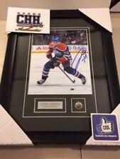 Darnell NURSE Edmonton Oilers 8x10 signed photo autographed Frame Cadre COA NHL