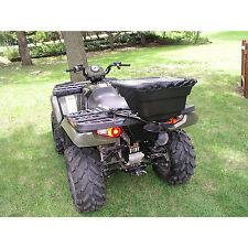 ATV Attach Grass Fertilizer Broadcast Spreader 12V Garden Yard Lawn Seed Hopper