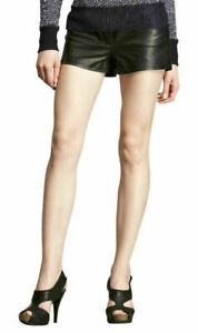 Designer Partywear Genuine Leather Shorts For Women HOT Casual Stylish Cocktail
