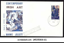 IRELAND - 1970 CONTEMPORARY IRISH ART - FDC UNADDRESSED