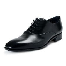 Roberto Cavalli Men's Black Leather Lace Up Oxfords Shoes 7 8 9 10 11 12 13
