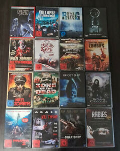 DVD Horror Filmesammlung aus 16 Filmen