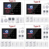Sistema de Alarma Casa GSM GPRS WIFI Inalámbrico Seguridad APP Control Español