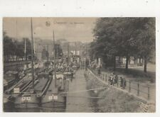 Charleroi La Deversoir Belgium Vintage Postcard 888a