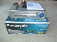 Panasonic NV-FJ8MK2 Multinorm VHS-Videorecorder, komplett in OVP, 2J. Garantie