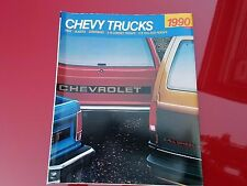 1990 Chevrolet K-5 Blazer 4 x 4 Deluxe Package Sales Brochure NOS GM Issued Mint