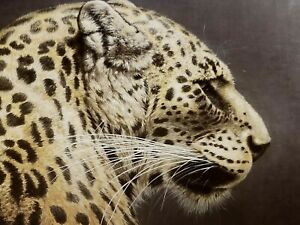 """Jorge Mayol """" Persian Leopard """" #275/550 Paper Edition Very Rare $600 Value"""