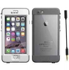 """NEW OEM Authentic Lifeproof WaterProof Nuud Case For iPhone 6 Plus 5.5"""" - White"""