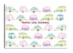 Caravan or Motorhome Owners, Travel Record Log & Journal - Caravans Design 8