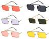 Unique Vintage Square Sunglasses Men Women Steampunk Small Metal Frame Retro New