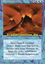 Vulkanausbruch (Volcanic Eruption) Magic limited black bordered german beta fbb