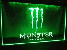 Monster Energy Getränk Neonzeichen Leuchtschild Leuchte Lampe Neon LED Party