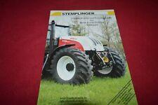 Stemplinger For Case International & Steyr Tractors  Dealer's Brochure FCCA