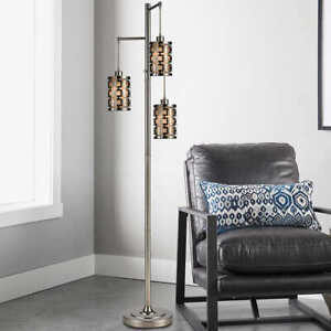 """Bridgeport Designs Neptune 3-Light 73"""" Floor Lamp"""