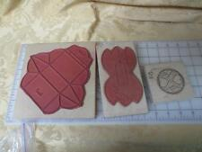 3 Rubber stamps 3D Limited Edition Little Pop Up Card Valentine Wheel & Gift Box