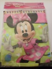 Hallmark Party Disney Minnie Mouse 'Bow-Tique' HAPPY BIRTHDAY BANNER 8.41' Long